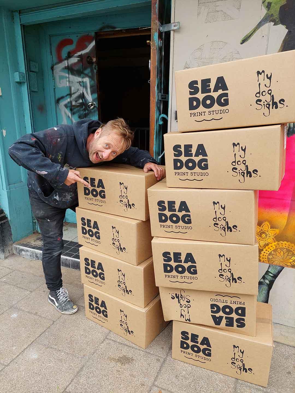 MDS x Sea Dog Print Studio